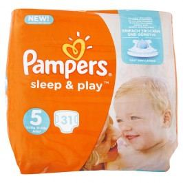Pampers - Sleep & Play 5 Junior (11–23kg) 31ks