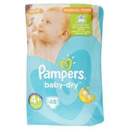 Pampers - Baby-Dry 4+ MAXI (9-18kg) 48ks