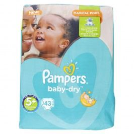 Pampers - Baby-Dry 5+ Junior+ (13-25kg) 43ks