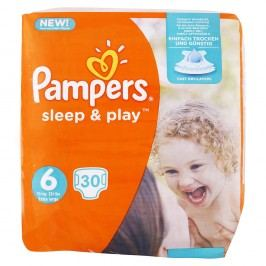 Pampers - Sleep & Play 6 EXTRA LARGE (15kg+) 30ks
