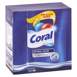 Coral Optimal Color – prášok na pranie – 1,25 kg/20 praní